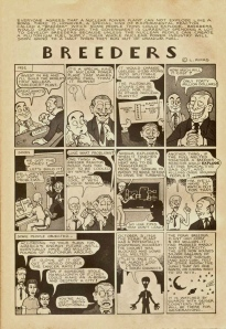 All-Atomic Comics pp. 17 Breeders. Leonard Rifas