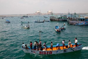 Sea Siege. Koodankulam 08 October 2012. Photo credits: Amritharaj Stephen.