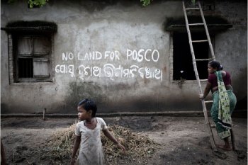 Dhinkia, Orissa. Photograph by Sanjit Das. 2011.