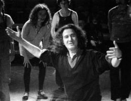 Augusto Boal in a theatre workshop in 1975