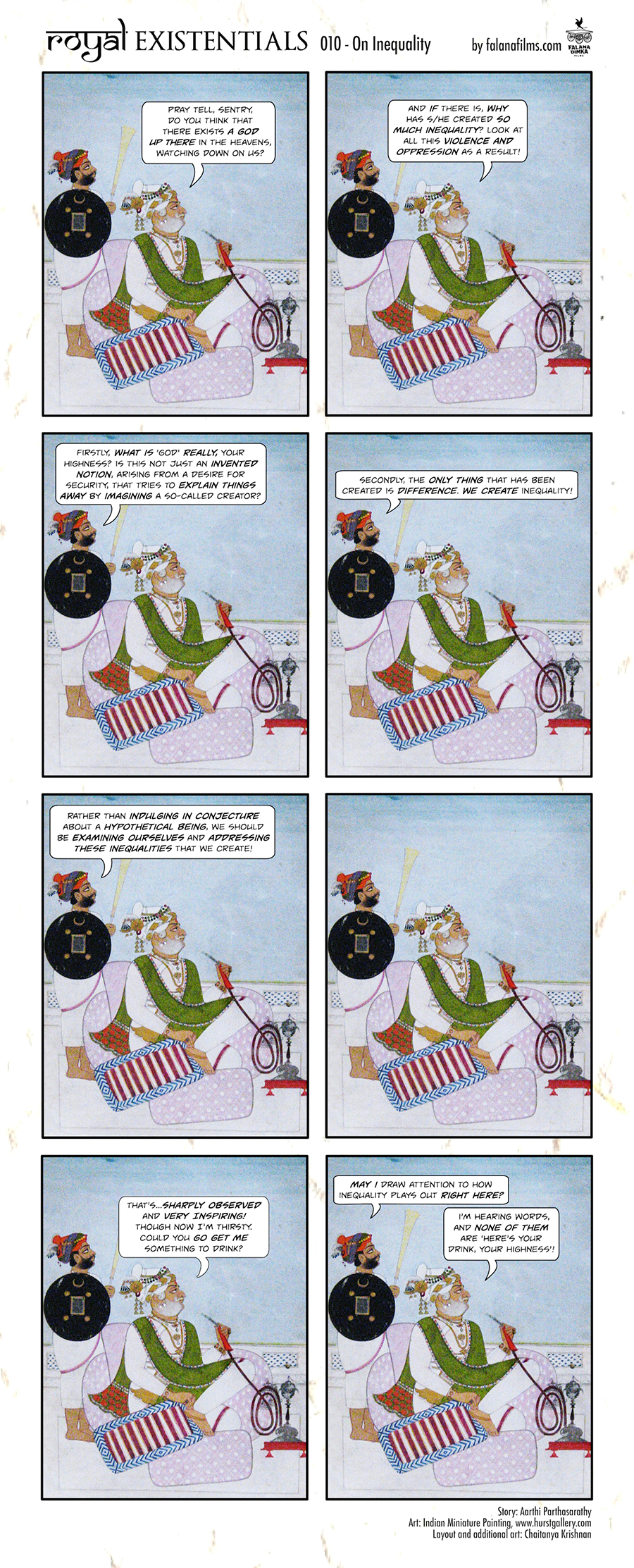 Royal Existentialists 001 On Inequality